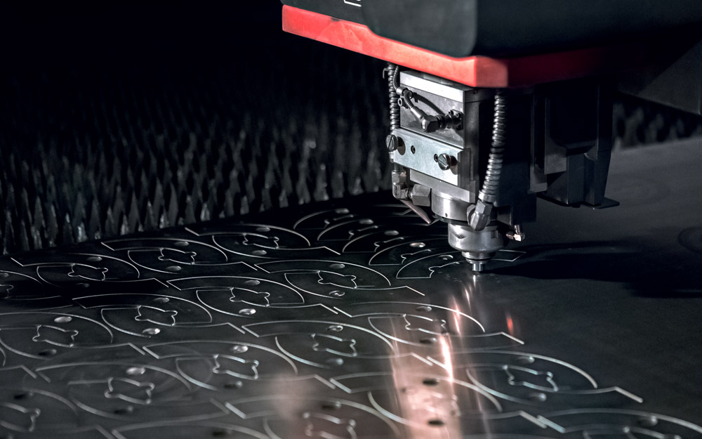 Taglio laser lamiere inox CMM