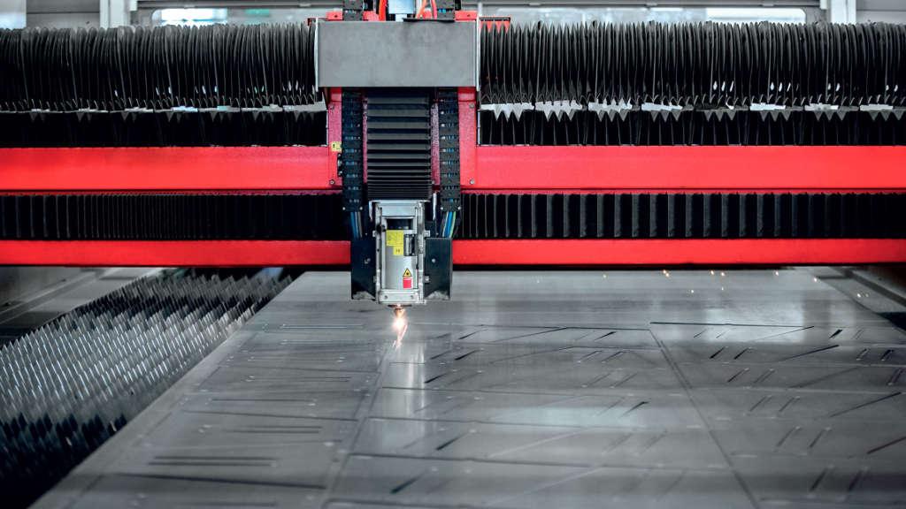 CMM servizio taglio laser lamiere